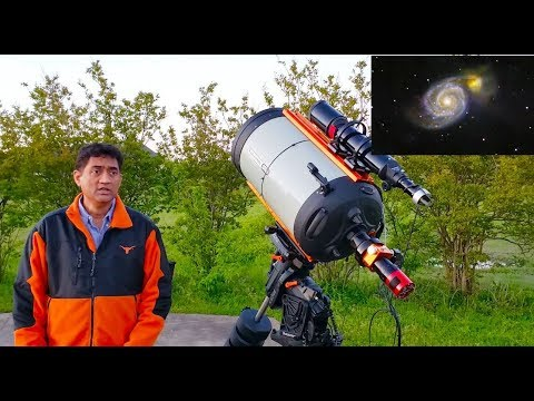 Review Of Celestron 14 EdgeHD SCT With Moonlite Focuser And CGX-L Mount For Astrophotography