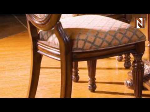 Villa Veneto Uphol Side Chair 427-07 by Fairmont Designs