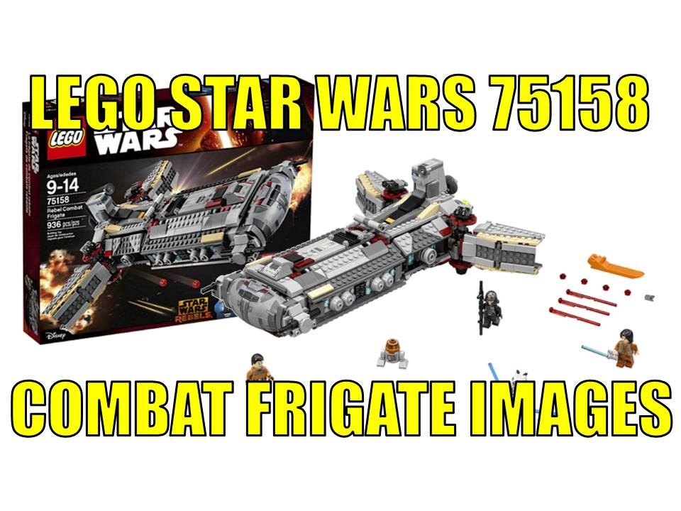 LEGO STAR WARS 75158 REBEL COMBAT FRIGATE IMAGES NEWS UPDATE - YouTube