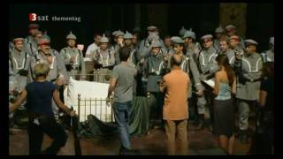 Wagner - Parsifal 2008 Bayreuth - Making of Part 1 - Interviews - Herheim, Gatti