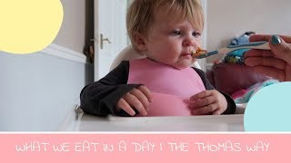 WHAT WE EAT IN A DAY  | FAMILY OF THREE | THE THOMAS WAY