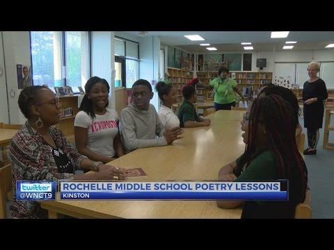 Award-winning poet at Kinston school for second residency