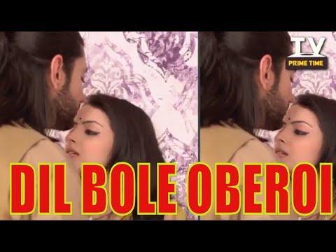 Omkara and Gauri Romantic Kiss   Dil Bole Oberoi   TV Prime Time thumbnail