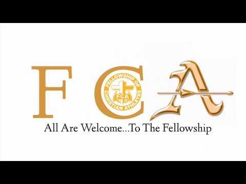 1st FCA Huddle at Bishop Amat Memorial High School