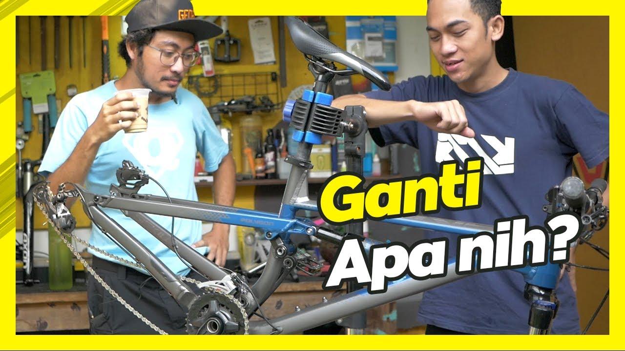 Asep Geprex Belajar Upgrade Sepeda