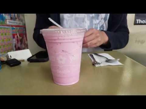 Thai Pink Drink (Nom Yen) - Wann Yen - Seattle
