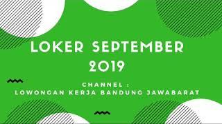 Loker September 2019