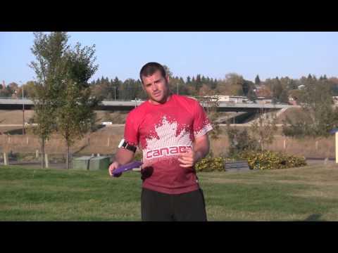 2012 Skyhoundz World Champion & World Record Holder Rob McLeod Throwing Hyperflite K10 Discs