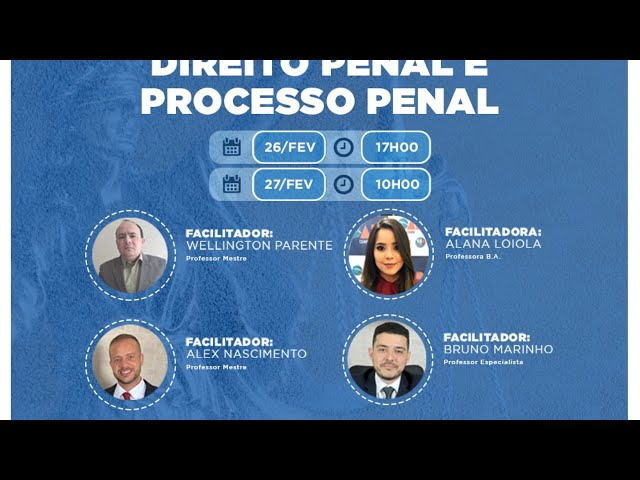Webinar - Gabaritando OAB 1ª Fase: Direito Penal e Processo Penal (1º Encontro)