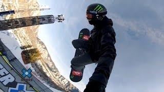 GoPro: Iouri Podladtchikov Snowboard Halfpipe Course Preview – 2014 Winter X Games Aspen