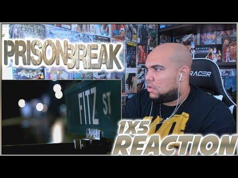 """Prison Break Reaction Season 1 Episode 5 """"English, Fitz Or Percy"""" 1x5 REACTION!!!"""