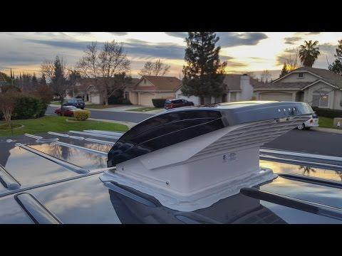 Mercedes Sprinter Camper Van Maxxair Fan Install Youtube