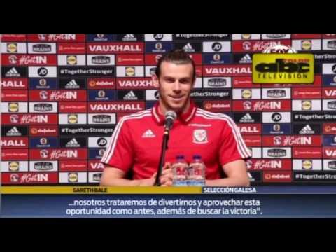 "Gareth Bale: ""No es Gareth Bale vs. Cristiano, sino once contra once"" - Previa de Eurocopa"