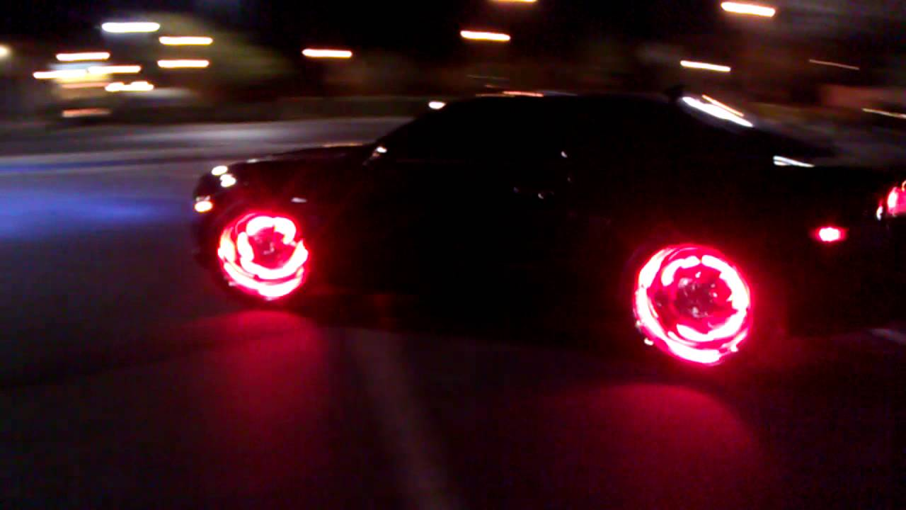 Fire Wheels My Superbright Red Led Wheel Kit Youtube