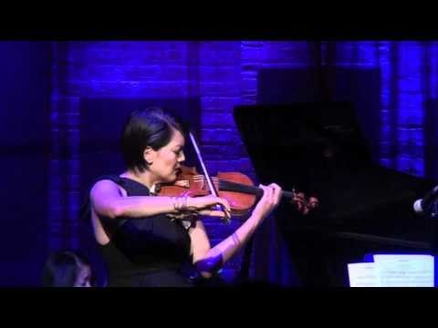 Anne Akiko Meyers & Reiko Uchida play 'Clair de Lune'/Moonlight