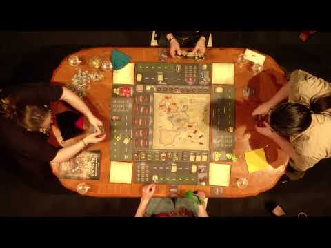 Crusader Kings The Board Game - Showmatch At PDXCon
