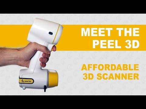 Meet the peel 3d™ | Affordable Handheld 3D Scanner