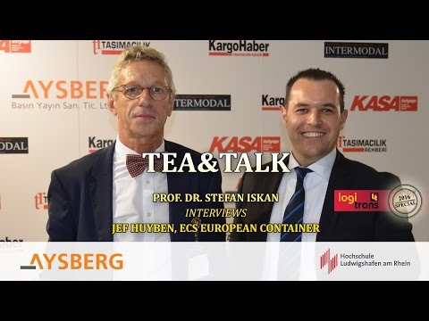 Tea & Talk logitrans 2016: Prof. Dr. Stefan Iskan interviews Jef Huyben
