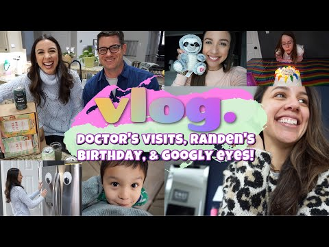 VLOG | Doctor's appointments, Randen's birthday, and several