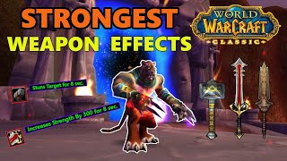 Classic WoW Top 10 Best Weapon Effects