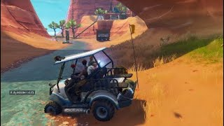 Fortnite: No Getaway Kart For You, Thieves!