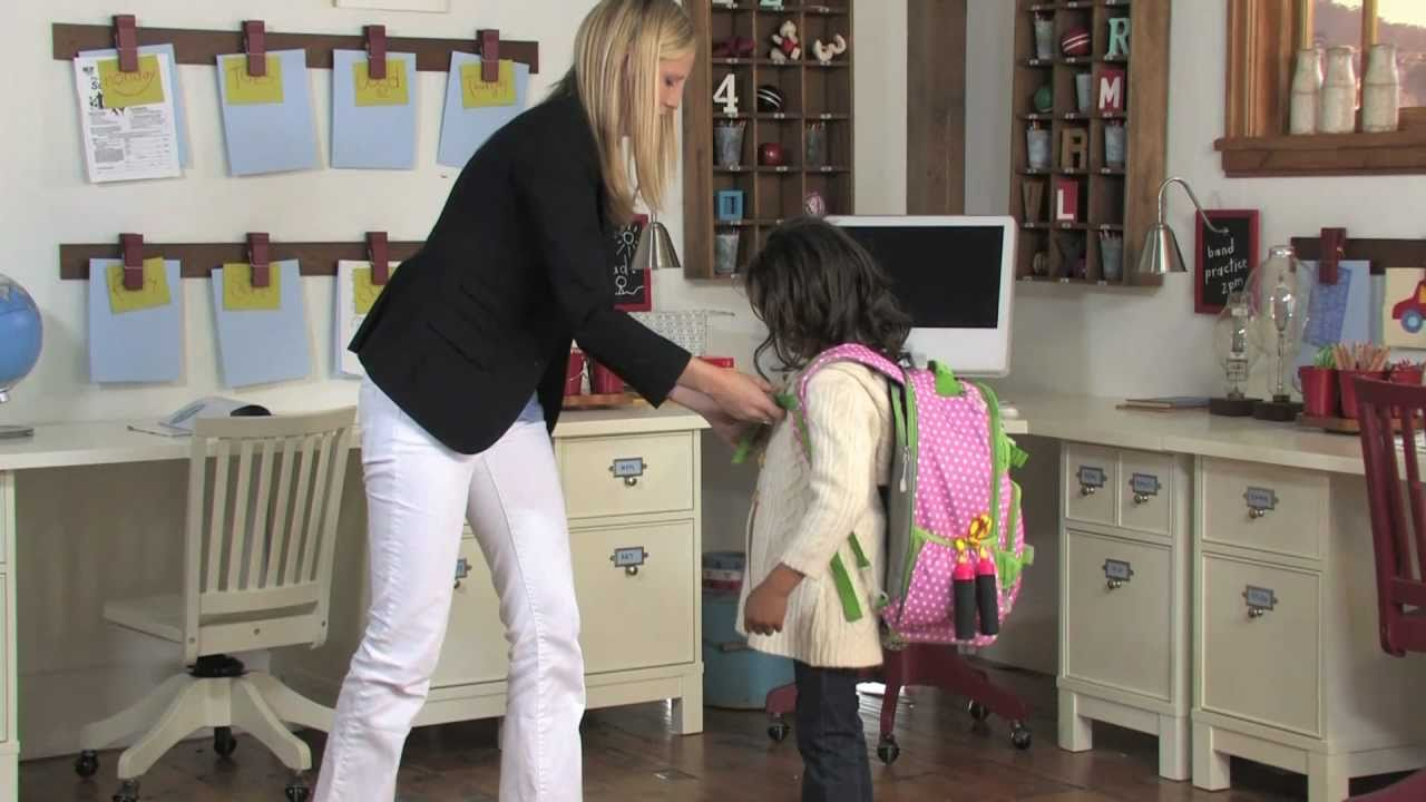 All About The Mackenzie Backpack Collection Pottery Barn Kids