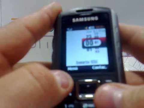 Samsung B2100 Xplorer. Demostracion del telefono movil de Samsung a cargo de Andotel.com