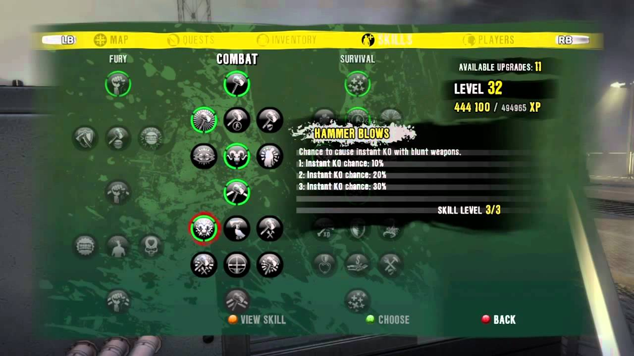 Dead Island Build Sam B