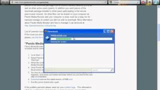 pando media booster 64 bits windows 7