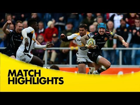 Exeter Chiefs v Wasps - Aviva Premiership Rugby 2015/16
