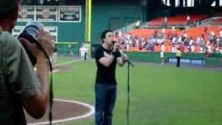National Anthem at the Washington Nationals game in DC