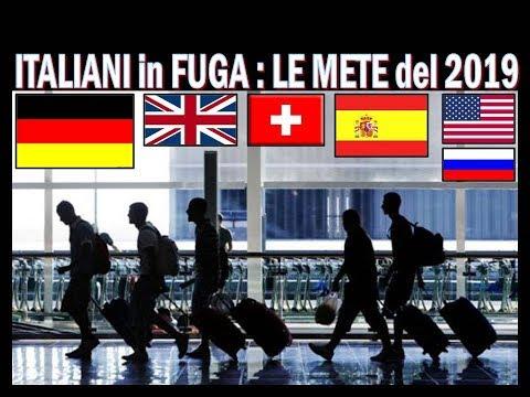 Italiani In Fuga : Le Miglior Mete Del 2019 Per Trovare Lavoro !!!