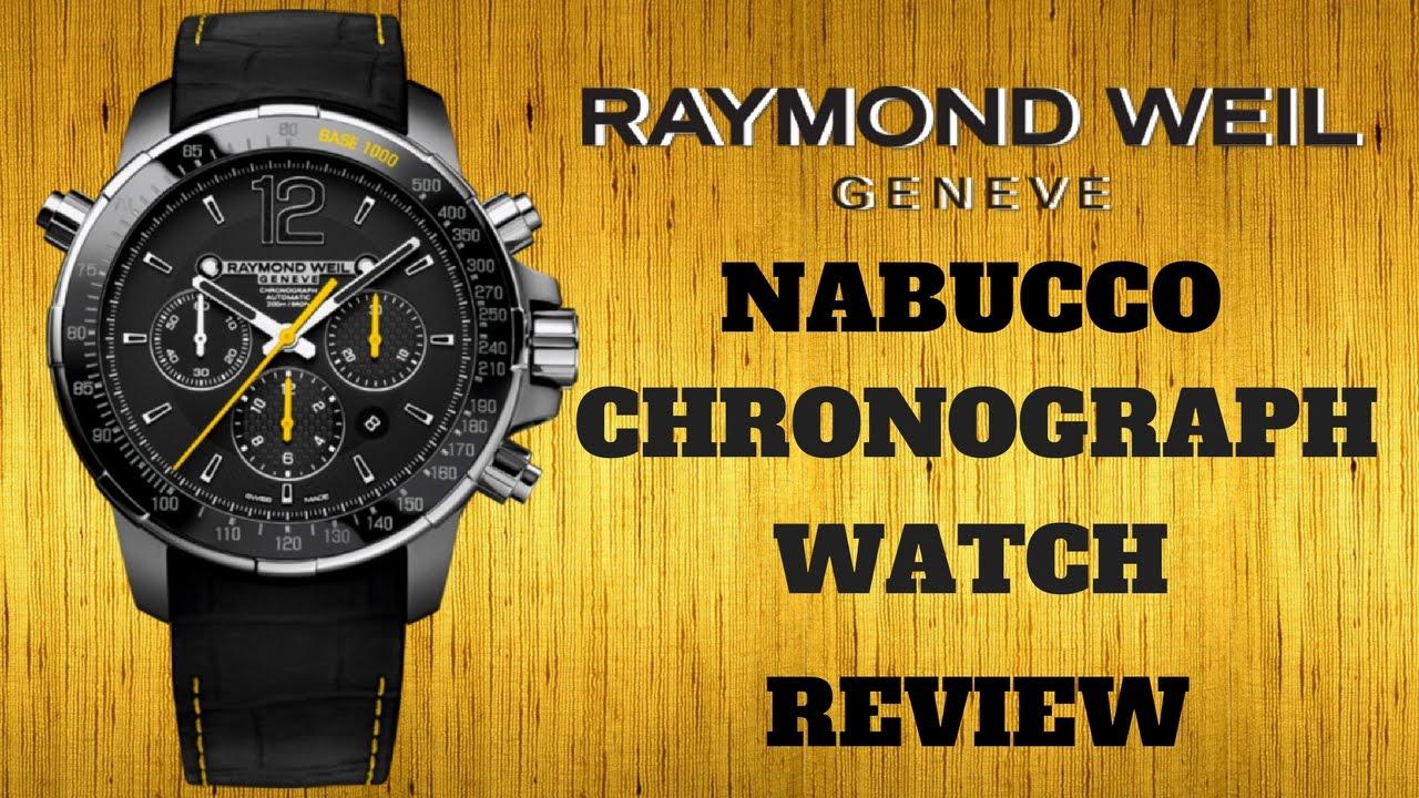 4k Raymond Weil Nabucco Men S Watch Review Model 7850 Tir 05207