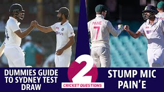 #IndvsAus: Why everyone can't appreciate the Sydney result and Stump mic Pain'e