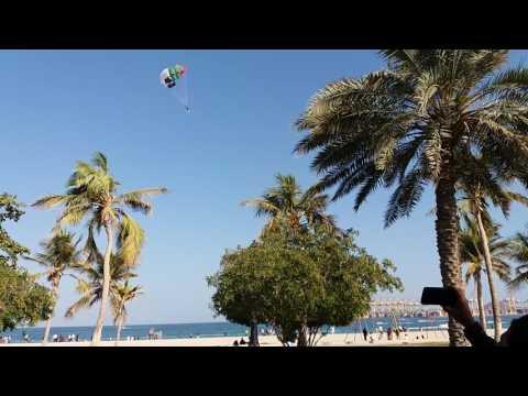 khor fakkan beach l khorfakkan parachute trip l Beautiful place in UAE