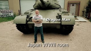 Japan WWII room in Dragon Mans Military Museum