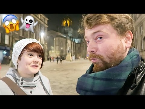 GHOST CAUGHT ON CAMERA!!?? Edinburgh Haunted Underground Tour