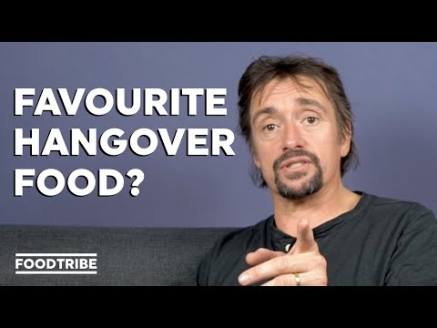What does Richard Hammond eat on big road trips? | FoodTribe Q&A