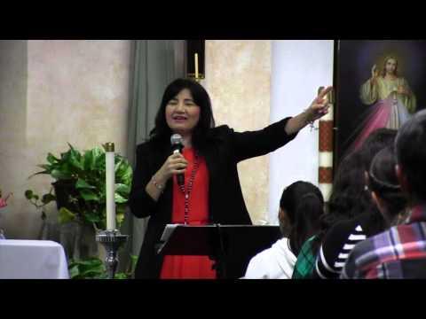 Hna: Ge'la Concierto y Testimonio -Nuevo Video- By Vision Catolica