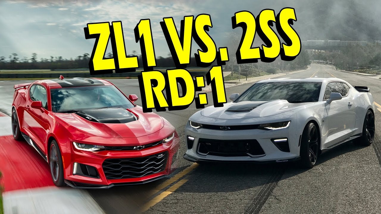 Zl1 Vs Upgraded Ss Who Wins 2017 Camaro Zl1 Vs 2016
