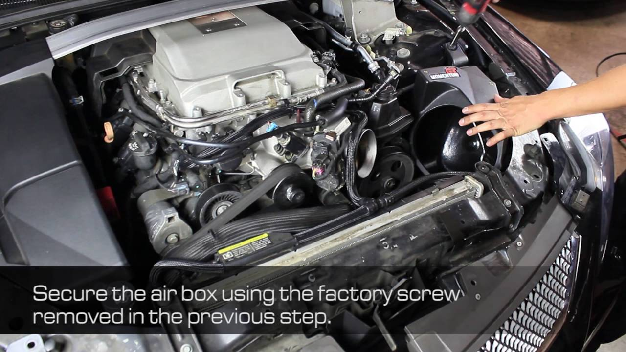 How To Install Afe Power 09 15 Cadillac Cts V V8 6 2l Sc Momentum Gt Intake System 52 74207 Youtube