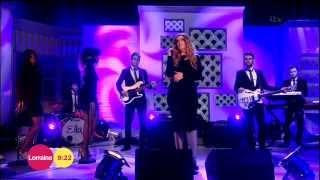 Ella Henderson on Lorraine 13/2/15 Mirror Man