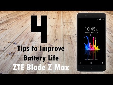 ZTE Blade Z Max - 4 Tips To Improve Your Battery Life