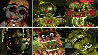 Five Nights at Freddy's: Left to Rust ALL JUMPSCARES!!