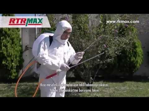 RTRMAX   Benzinli İlaçlama Pompası (Pulverizator) Kurulum ve İlk Çalıştırma