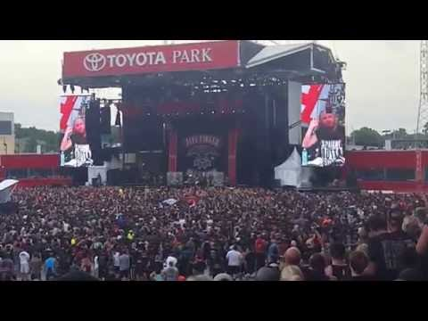 Chicago Open Air 2016 | Toyota Park |  Five Finger Death Punch