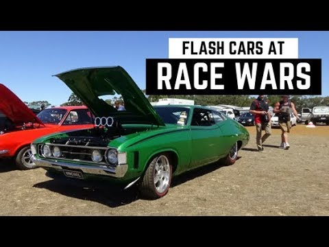 FLASH CARS AT RACE WARS! + JET CAR!! (Albany)