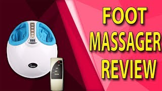 2018 Kneading Air Pressure Foot Care Machine Heating & Therapy Review #AliExpress #AliAddict
