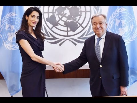 amal clooney pregnant | united nations | Human Rights Lawyer
