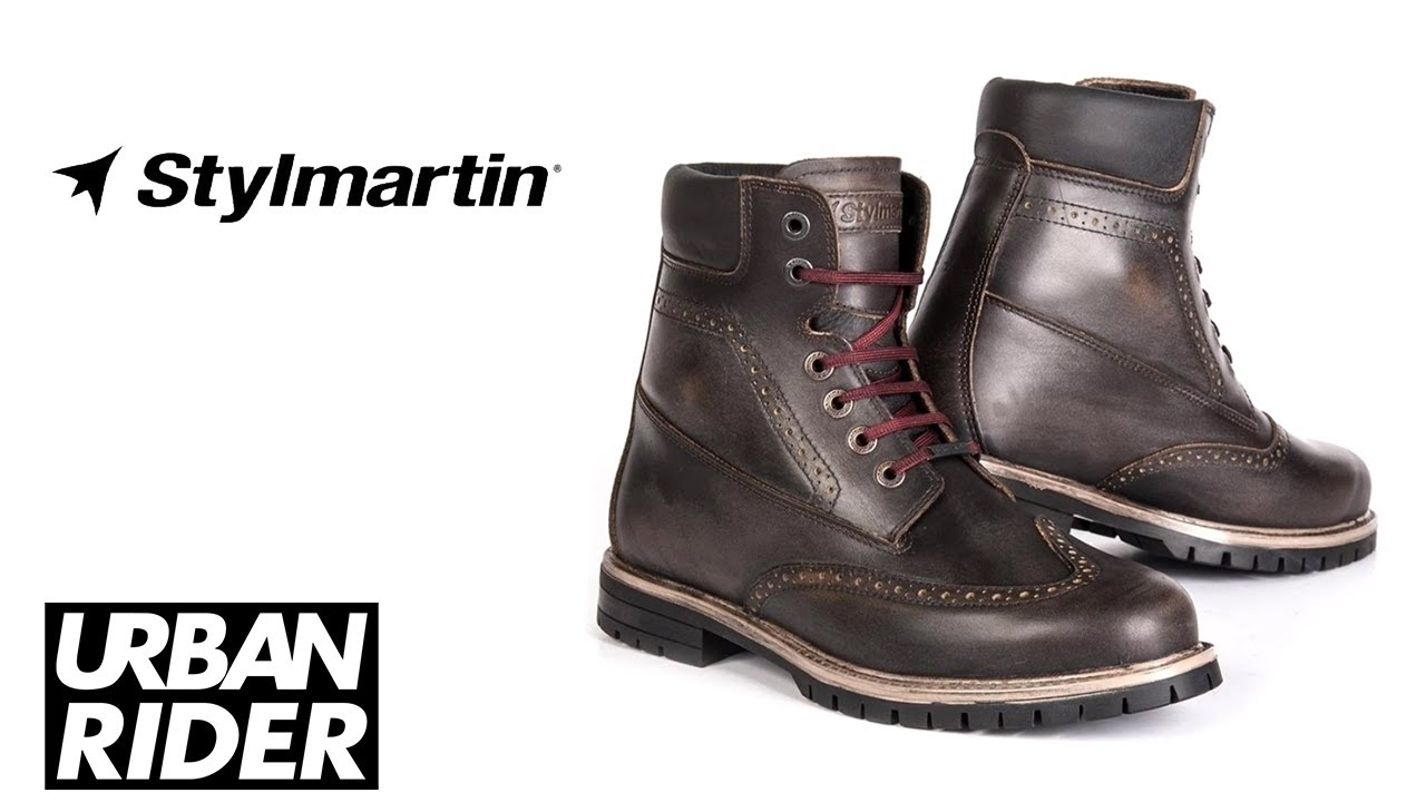 Stylmartin Wave Leather Motorcycle Boots Review By Urban